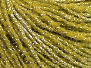 Fiber Content 34% Acrylic, 34% Viscose, 21% Alpaca, 11% Wool, Light Green, Brand ICE, Yarn Thickness 4 Medium  Worsted, Afghan, Aran, fnt2-62779