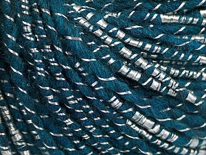 Fiber Content 34% Acrylic, 34% Viscose, 21% Alpaca, 11% Wool, Teal, Brand ICE, Yarn Thickness 4 Medium  Worsted, Afghan, Aran, fnt2-62780