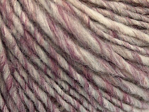 Fiberinnehåll 50% Ull, 50% Akryl, Purple, Brand ICE, Grey, Cream, Copper, Yarn Thickness 4 Medium  Worsted, Afghan, Aran, fnt2-62784