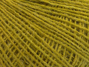 Fiber Content 55% Acrylic, 25% Alpaca, 20% Wool, Olive Green, Brand ICE, fnt2-62823