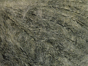 Fiber Content 34% Acrylic, 26% Wool, 24% Polyamide, 16% Viscose, Khaki Melange, Brand ICE, fnt2-62916