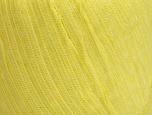 Fiber Content 62% Acrylic, 38% Polyamide, Light Yellow, Brand ICE, Yarn Thickness 4 Medium  Worsted, Afghan, Aran, fnt2-62943