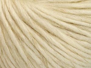 Fiber Content 75% Wool, 25% Alpaca, Brand ICE, Cream, fnt2-62982