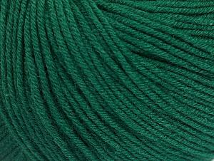 Fiber Content 60% Cotton, 40% Acrylic, Brand ICE, Dark Green, fnt2-63002