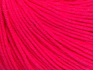 Fiber Content 60% Cotton, 40% Acrylic, Neon Pink, Brand ICE, fnt2-63008