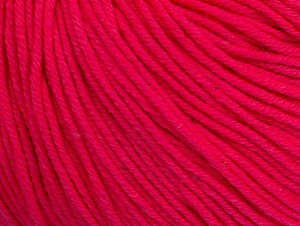 Fiber Content 60% Cotton, 40% Acrylic, Neon Pink, Brand ICE, fnt2-63014