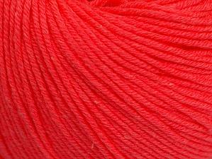 Contenido de fibra 60% Algodón, 40% Acrílico, Neon Salmon, Brand ICE, fnt2-63015