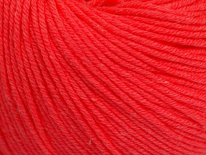 Fiber Content 60% Cotton, 40% Acrylic, Neon Salmon, Brand ICE, fnt2-63015