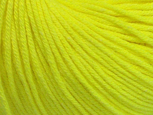 Fiber Content 60% Cotton, 40% Acrylic, Neon Yellow, Brand ICE, fnt2-63016