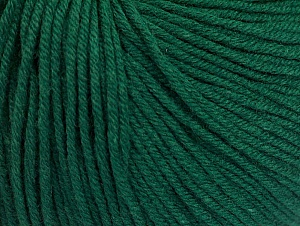 Fiber Content 60% Cotton, 40% Acrylic, Brand ICE, Dark Green, fnt2-63020