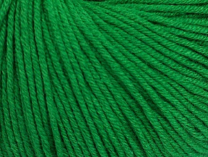 Fiber Content 60% Cotton, 40% Acrylic, Brand ICE, Green, fnt2-63021