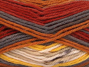 İçerik 75% Superwash Wool, 25% Polyamid, Yellow, Brand ICE, Grey, Cream, Copper, fnt2-63022