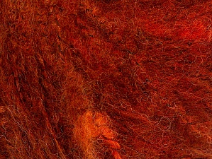Fiber Content 40% Acrylic, 40% Wool, 20% Polyamide, Orange, Brand ICE, Copper, fnt2-63044