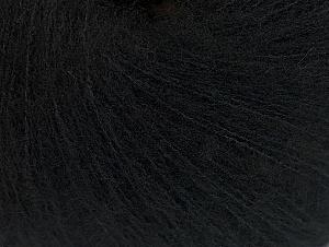 Fiber Content 34% Wool, 24% Acrylic, 21% Elite Polyester, 21% Polyamide, Brand ICE, Black, Yarn Thickness 1 SuperFine  Sock, Fingering, Baby, fnt2-63058