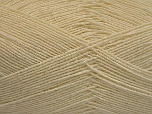 Περιεχόμενο ίνας 55% Βαμβάκι, 45% Ακρυλικό, Brand ICE, Ecru, Yarn Thickness 1 SuperFine  Sock, Fingering, Baby, fnt2-63108