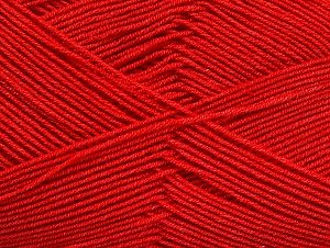 Fiberinnehåll 55% Bomull, 45% Akryl, Red, Brand ICE, Yarn Thickness 1 SuperFine  Sock, Fingering, Baby, fnt2-63112
