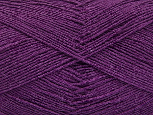 Fiberinnehåll 55% Bomull, 45% Akryl, Purple, Brand ICE, Yarn Thickness 1 SuperFine  Sock, Fingering, Baby, fnt2-63113