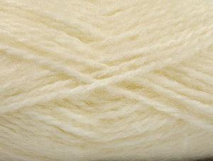 SuperBulky  Fiber Content 70% Acrylic, 30% Angora, Brand ICE, Cream, fnt2-63123