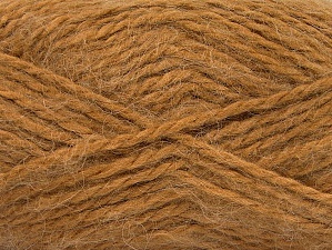 SuperBulky  Fiber Content 70% Acrylic, 30% Angora, Light Brown, Brand ICE, fnt2-63128