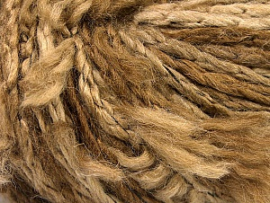 Fiber Content 70% Wool, 5% Polyamide, 25% Acrylic, Brand ICE, Brown Shades, fnt2-63152