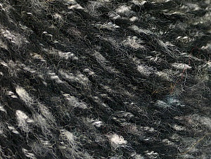 Fiber Content 50% Wool, 50% Acrylic, White, Brand ICE, Grey, Black, fnt2-63164