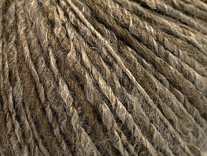 Fiber Content 62% Acrylic, 4% Linen, 18% Wool, 16% Viscose, Brand ICE, Camel, Brown, fnt2-63169
