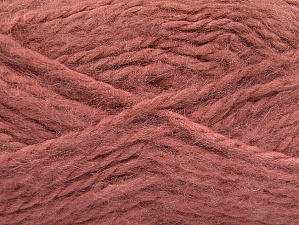 SuperBulky  Fiber Content 70% Acrylic, 30% Angora, Salmon, Brand ICE, Yarn Thickness 6 SuperBulky  Bulky, Roving, fnt2-63193
