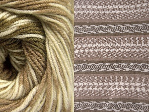 Fiberinnehåll 70% Akryl, 30% Ull, Khaki, Brand ICE, Cream, Camel, Yarn Thickness 3 Light  DK, Light, Worsted, fnt2-63214