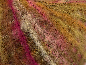 Fiber Content 37% Kid Mohair, 35% Acrylic, 28% Polyamide, Olive Green, Brand ICE, Fuchsia, fnt2-63251