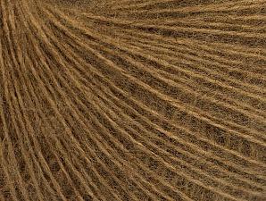 Περιεχόμενο ίνας 50% Ακρυλικό, 30% Μοχαίρ, 20% Μαλλί, Light Brown, Brand ICE, Yarn Thickness 2 Fine  Sport, Baby, fnt2-63292