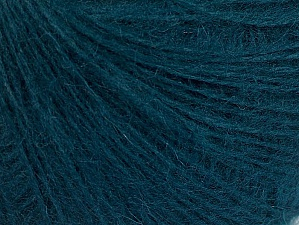 Fiber Content 50% Acrylic, 30% Mohair, 20% Wool, Teal, Brand ICE, Yarn Thickness 2 Fine  Sport, Baby, fnt2-63305