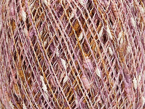 Fiberinnehåll 65% Akryl, 20% Bomull, 15% Polyamid, White, Pink, Lilac, Brand ICE, Gold, Yarn Thickness 1 SuperFine  Sock, Fingering, Baby, fnt2-63312