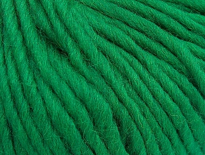 Fiber Content 100% Wool, Brand ICE, Green, Yarn Thickness 5 Bulky  Chunky, Craft, Rug, fnt2-63344