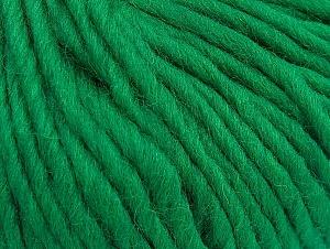 Contenido de fibra 100% Lana, Brand Ice Yarns, Green, Yarn Thickness 5 Bulky Chunky, Craft, Rug, fnt2-63344