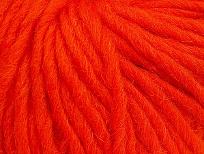 Fiber Content 100% Wool, Orange, Brand ICE, Yarn Thickness 5 Bulky  Chunky, Craft, Rug, fnt2-63345