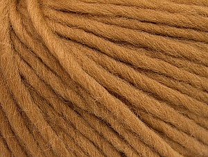 Fiber Content 100% Wool, Light Brown, Brand ICE, Yarn Thickness 5 Bulky  Chunky, Craft, Rug, fnt2-63346