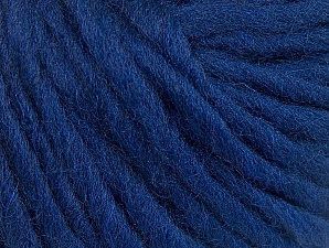 Fiber Content 100% Wool, Navy, Brand ICE, Yarn Thickness 5 Bulky  Chunky, Craft, Rug, fnt2-63348