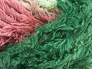 Fiber Content 95% Acrylic, 5% Polyester, Orchid, Maroon, Lilac, Brand ICE, Green Shades, fnt2-63391