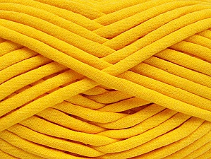 Fiber Content 60% Polyamide, 40% Cotton, Yellow, Brand ICE, fnt2-63435