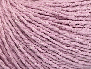 Fiber Content 68% Cotton, 32% Silk, Lilac, Brand ICE, fnt2-63442