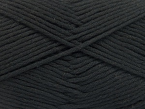 Fiber Content 50% SuperFine Acrylic, 50% SuperFine Nylon, Brand ICE, Black, fnt2-63460