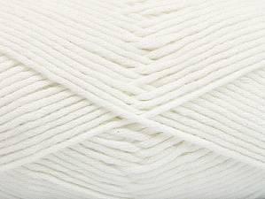 Fiber Content 50% SuperFine Acrylic, 50% SuperFine Nylon, White, Brand ICE, fnt2-63461
