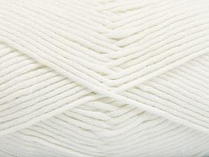 Vezelgehalte 50% SuperFine Acrylic, 50% SuperFine Nylon, White, Brand ICE, fnt2-63461