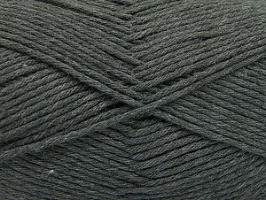 Fiber Content 50% SuperFine Acrylic, 50% SuperFine Nylon, Brand ICE, Dark Grey, fnt2-63463