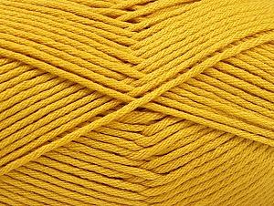Fiber Content 52% Nylon, 48% Acrylic, Brand Ice Yarns, Gold, Yarn Thickness 4 Medium Worsted, Afghan, Aran, fnt2-63464