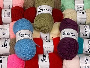 100% Acrylic Yarns  Brand ICE, fnt2-63531