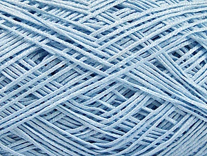 Fiber Content 60% Cotton, 28% Viscose, 10% Polyamide, Light Blue, Brand ICE, fnt2-63565