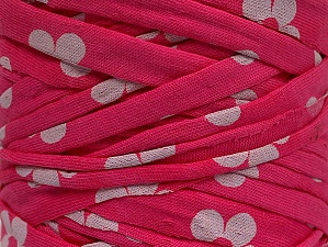 Make handbags,rugs,basket and cushion covers with this genius new-fashion yarn!<p>Since the yarn is made by upcycling fabrics, and because of the nature of the yarn; take the following notes into consideration. </p><ul><li>Fiber content information may vary. Information given about fiber content is approximate. </li><li>The yardage and weight information of the yarn is approximate. </li></ul> Vezelgehalte 95% Katoen, 5% Elastan, White, Pink, Brand ICE, fnt2-63608