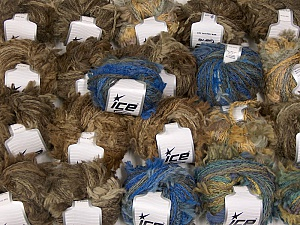 Sale Winter This mixed lot includes a total of 2000 gr (70.5 oz.) yarn. There is no standard for ball weight. Also disregard any information on the labels. You will get what you see in the photo. Brand ICE, fnt2-63632