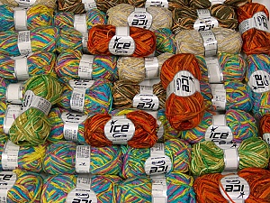 Thin Chenille This mixed lot includes a total of 2000 gr (70.5 oz.) yarn. There is no standard for ball weight. Also disregard any information on the labels. You will get what you see in the photo. Fiber Content 100% Polyester, Brand ICE, fnt2-63658